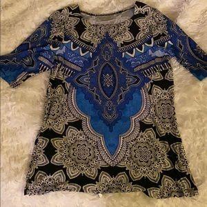 Designer tunic M George Simonton—gorgeous!
